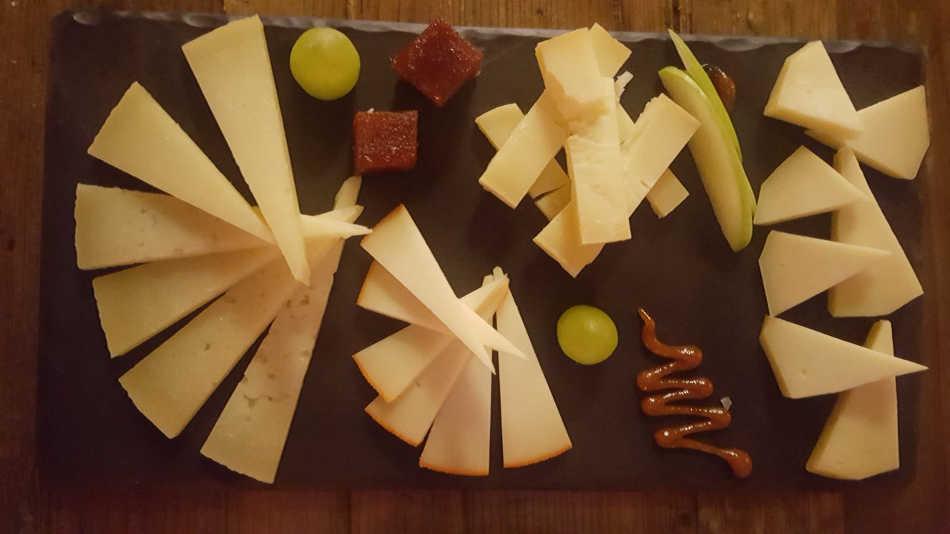 Iberica Leeds cheese board