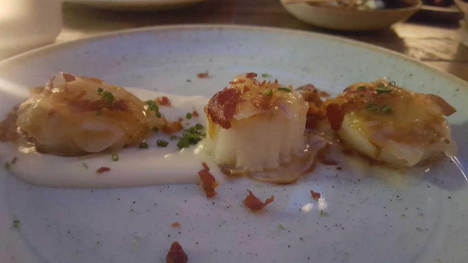 Iberica Leeds scallops